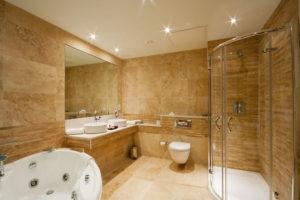 Beautiful Custom Bathroom and Shower Door Enclosure
