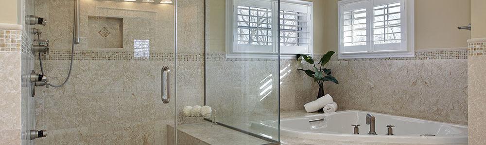 Custom shower door systems las vegas a cutting edge for Door hardware las vegas