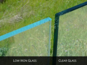 Traditional Clear Glass Opposed to Low Iron Glass