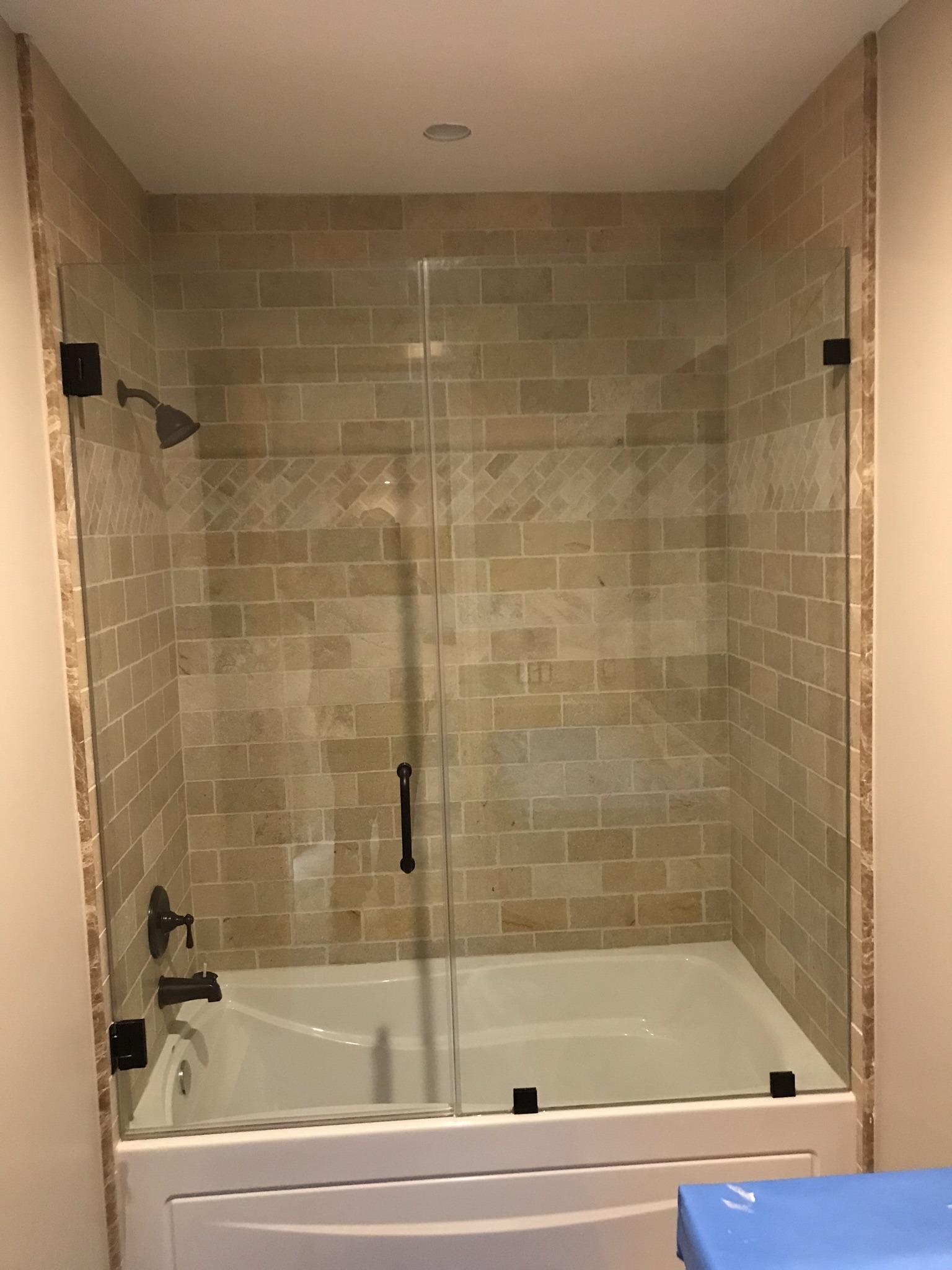 Bath Tub Shower Doors Las Vegas Shower Doors Fot Tubs A